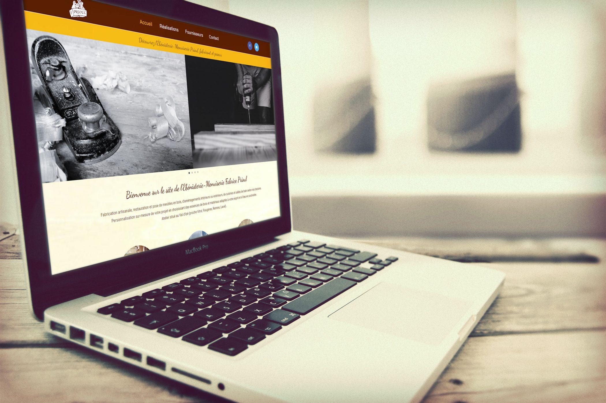 Création d'un site web vitrine pour présenter son activité (optimisation SEO, formation initiale)