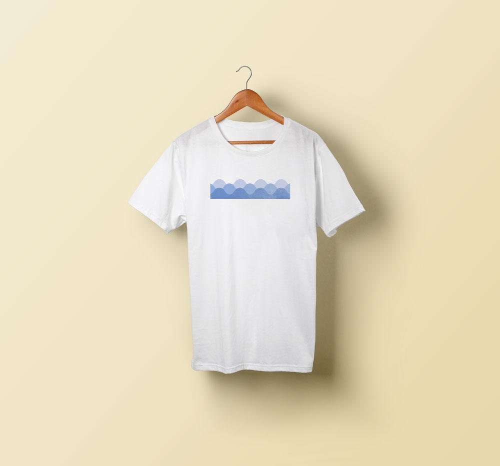 t-shirt sérigraphie visuel personnalisé été