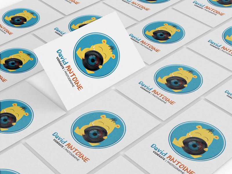 cartes de visite personnalisées avec logo