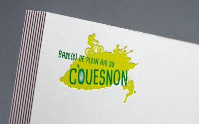Refonte du logo de l'association Evasion Nature 35, gérant les bases de plein air du Couesnon