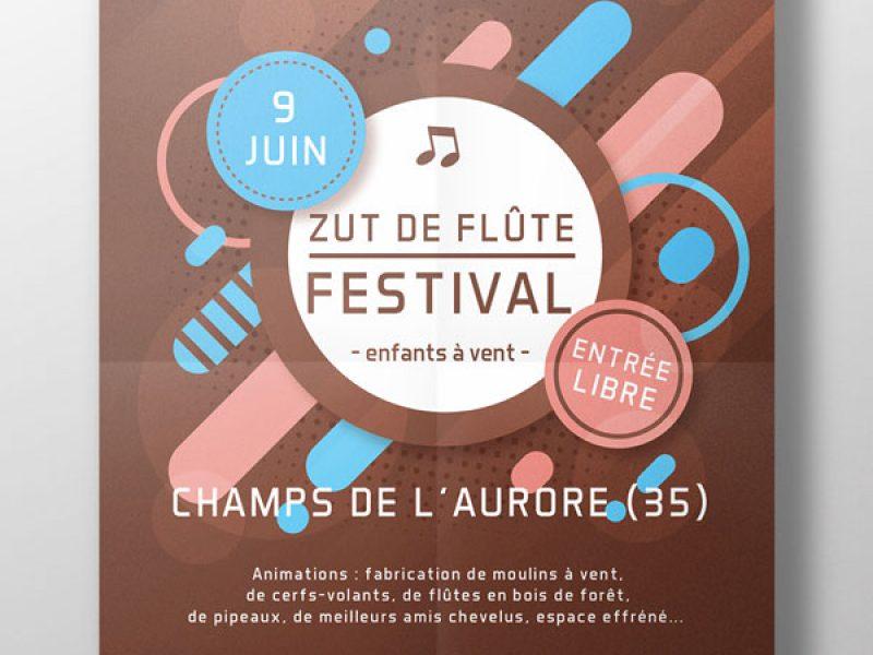 conception d'affiche, de dépliant, de flyers pour festival, manifestations, évènements divers