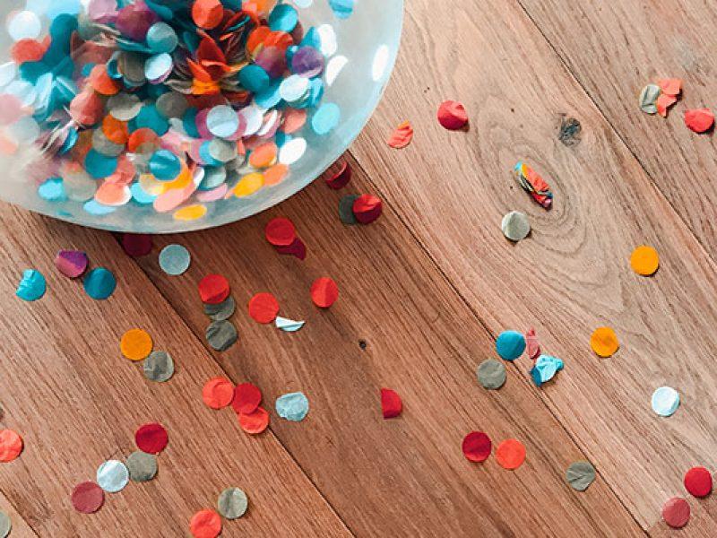 confettis : Organisation d'anniversaire personnalisé pour les enfants