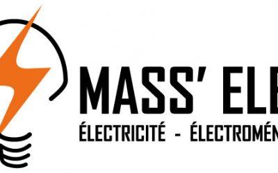 logo de Mass'élec Antrain, Yannick Massin