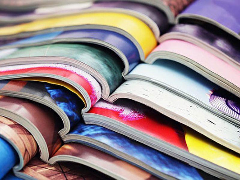 Graphisme et mise en page de magazines, brochures, journal interne, communal, mensuel