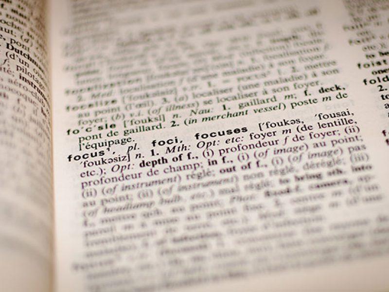 rédaction de contenus : le choix du mot le plus adapté au sujet