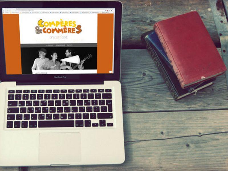 création de site web simple, hébergement intégré